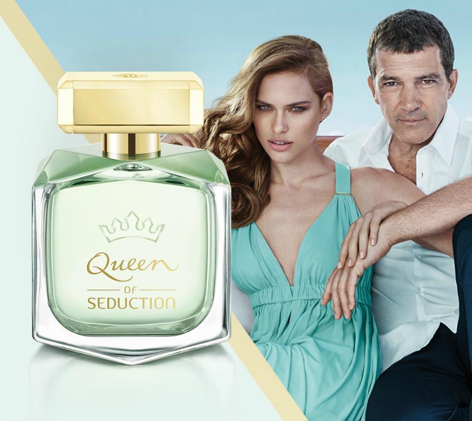 Ваше Величество: Antonio Banderas представил новый аромат Queen of Seduction