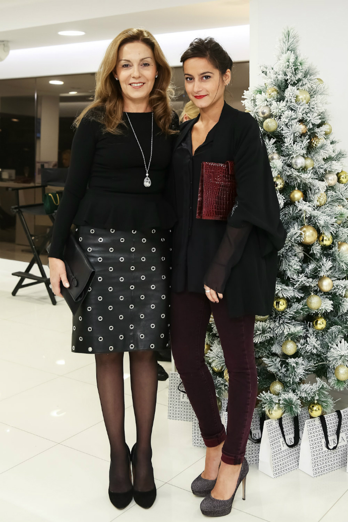 Сати Спивакова с дочерью