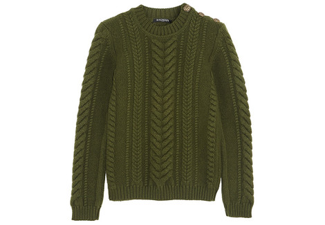 Пуловер, Balmain, 61 079 руб.