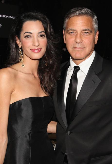 Джордж Клуни с супругой: фото