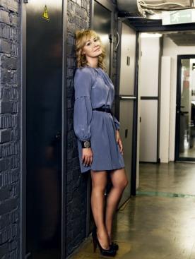 Платье, Derek Lam; браслет, Chanel