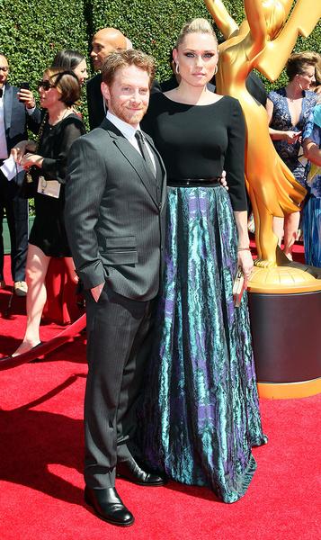 Сет Грин с супругой Клэр Грант
