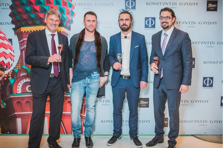 Премьера коллекции KUPOLA для хрустального Дома Moser от российского дизайнера Константина Гайдая