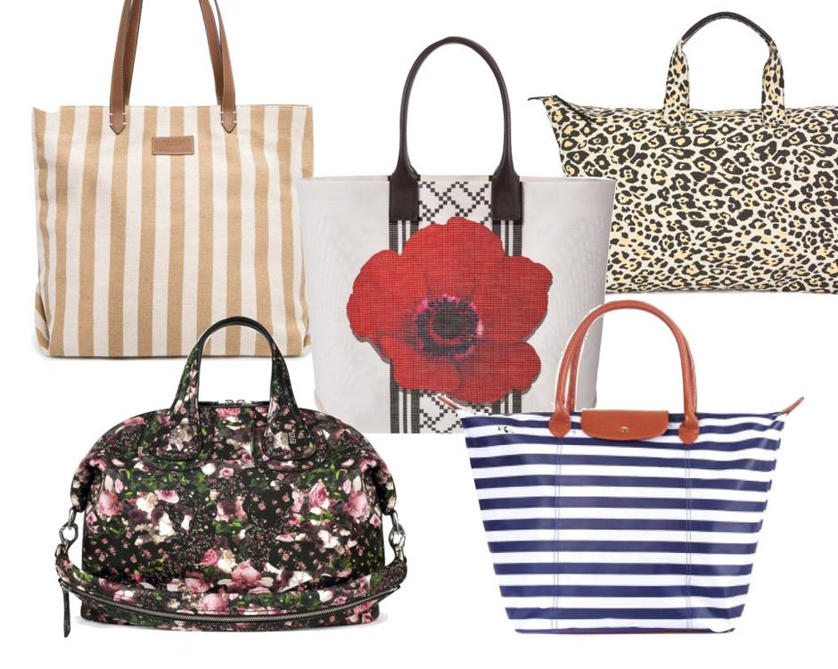 Выбор ELLE: верхний ряд - Mango, Furla, Stella McCartney, нижний ряд - Givenchy, Befree.