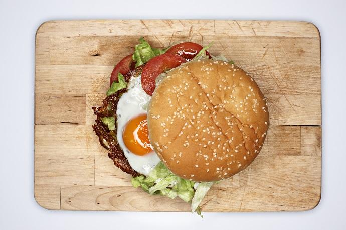 Бургер «все включено»