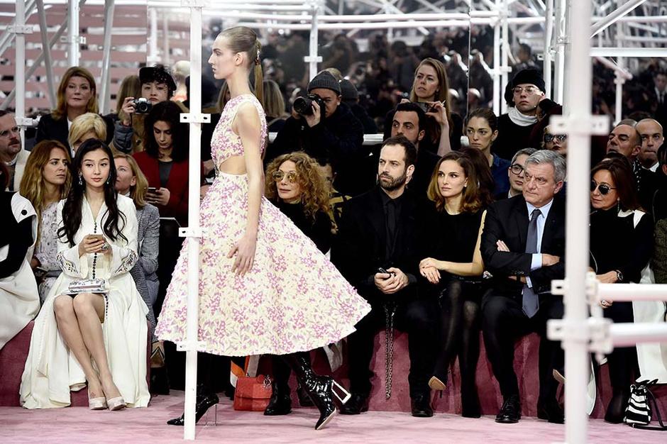 Показ Dior Haute Couture