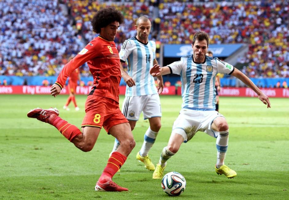 Аргентина - Бельгия (1:0)