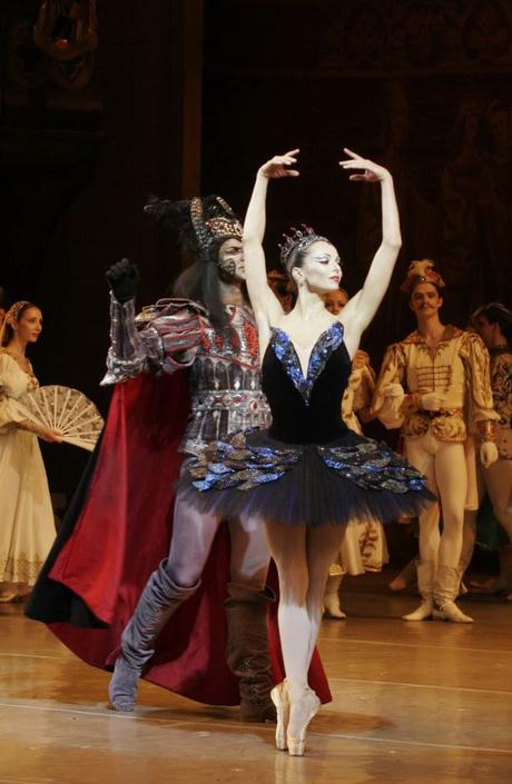 """Диана Вишнева в балете """"Лебединое озеро"""""""