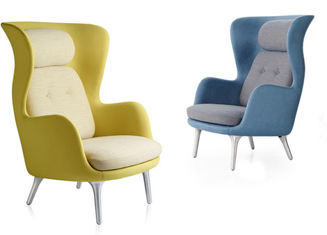 Кресла Ro, Fritz Hansen, салоны «Флэт-интерьеры», Galerie 46, Галерея дизайна/bulthaup СПб