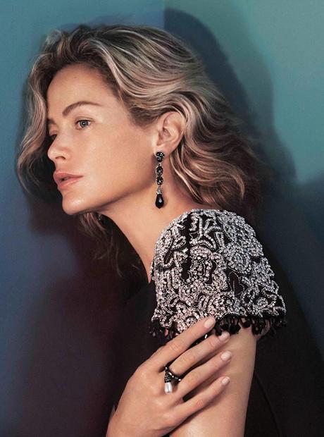 Кэролин Мерфи в рекламе Oscar De la Renta