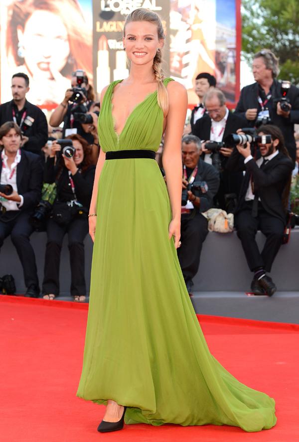 Фьямметта Чиконья на Международном Венецианском кинофестивале 2013