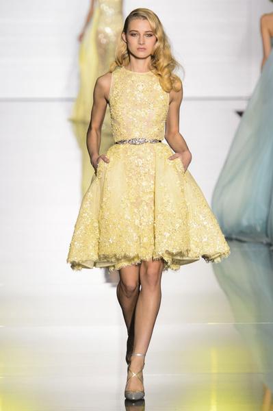 Показ Zuhair Murad Haute Couture | галерея [1] фото [18]