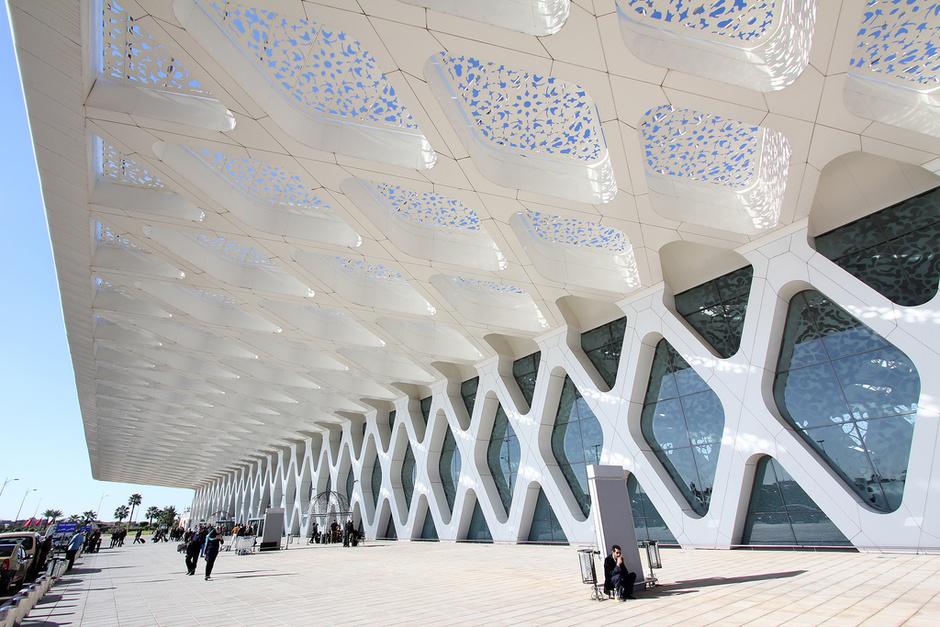 Аэропорт Марракеш-Менара в Марокко