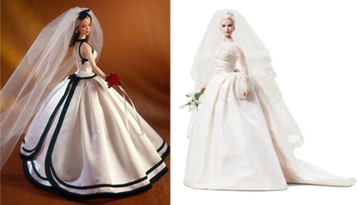Barbie Bride by Vera Wang; Barbie Bride Grace Kelly