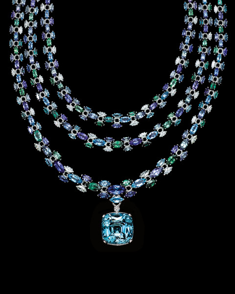 Tiffany & Co. представил новую коллекцию Высокого ювелирного искусства Blue Book | галерея [1] фото [3]