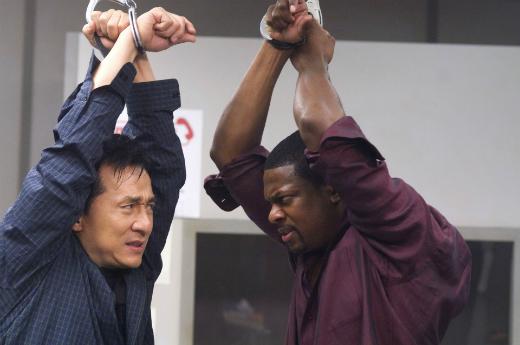Джеки Чан и Крис Рок в «Часе пик»