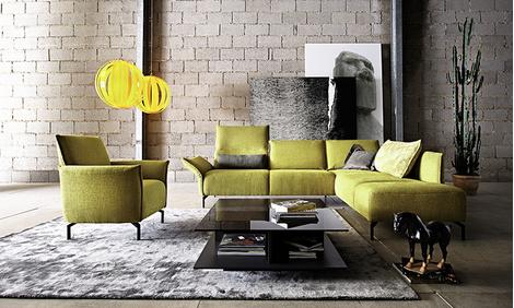 Угловой модульный диван Vanda, Koinor, www.koinor-international.ru, салоны SDP-Interior, «Мир немецкой мебели».