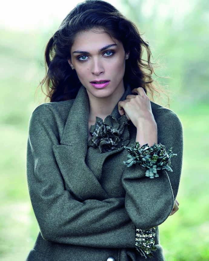 Элиза Седнауи в рекламной кампании Ermanno Scervino