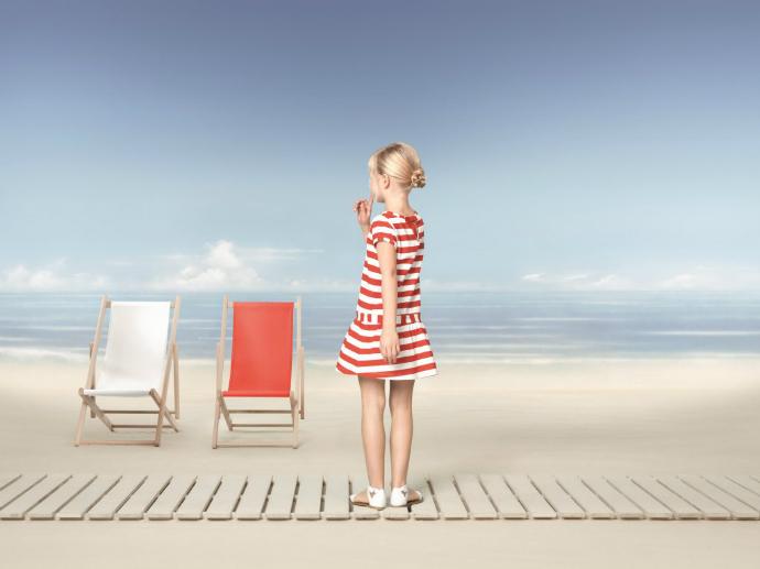 Детская пляжная мода лета 2014