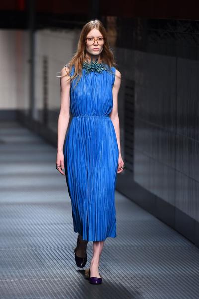 Показ Gucci на Неделе моды в Милане | галерея [1] фото [13]