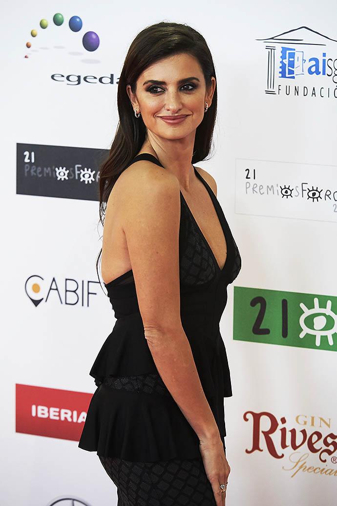 Пенелопа Крус на церемонии кинопремии Jose Maria Forque Awards 2016 в Мадриде