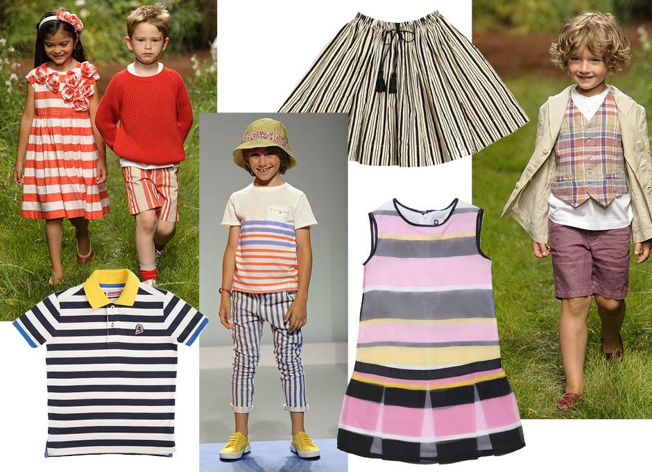 Детская мода лета