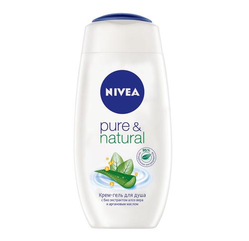 Крем-гель для душа Pure & Natural, Nivea