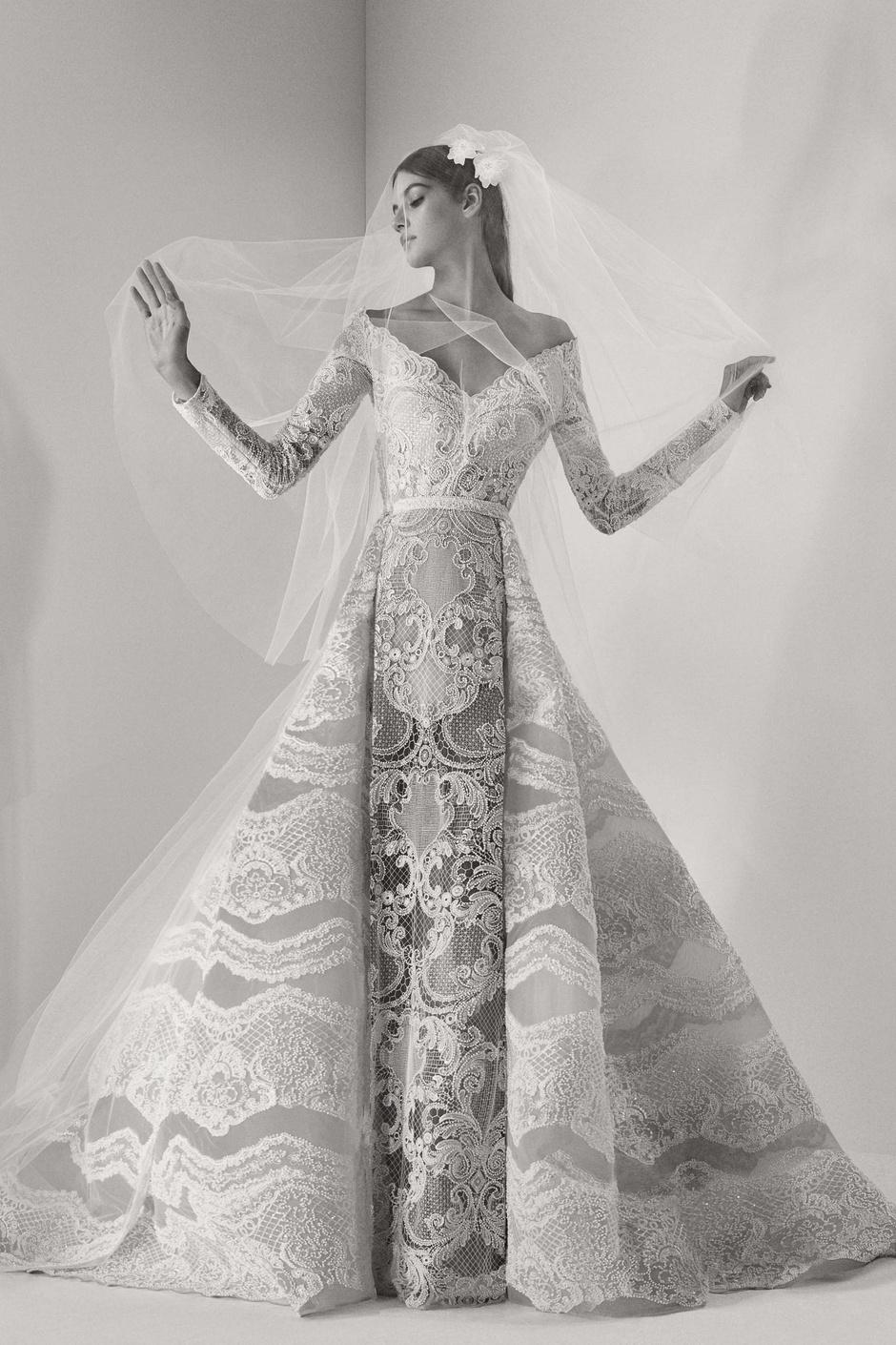 Elie Saab представил новую свадебную коллекцию