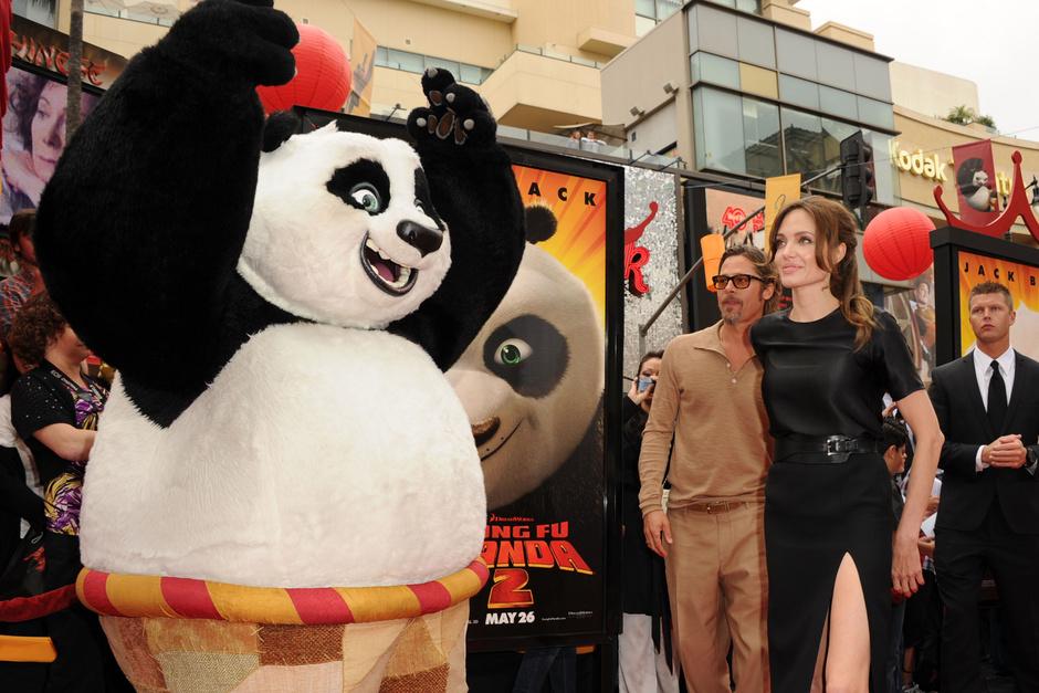 "Дети Брэда Питта и Анджелины Джоли озвучили мультфильм ""Кунг Фу Панда 3"""