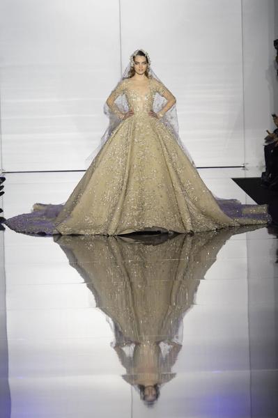 Показ Zuhair Murad Haute Couture | галерея [1] фото [3]