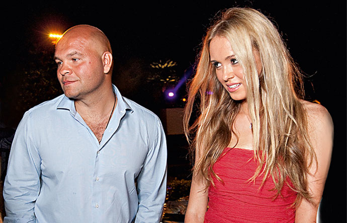 Ксения Сухинова и Сергей Говядин