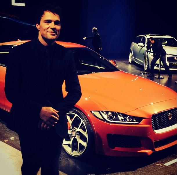 На презентации Jaguar XE в Лондоне