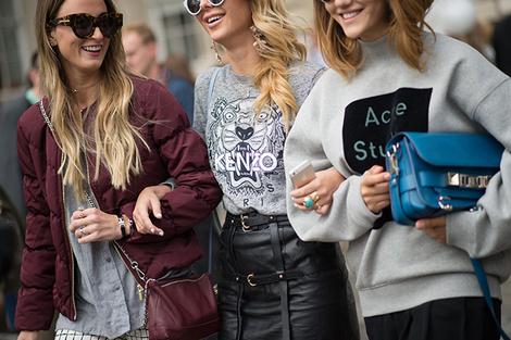 Неделя моды в Лондоне весна-лето 2015: street style