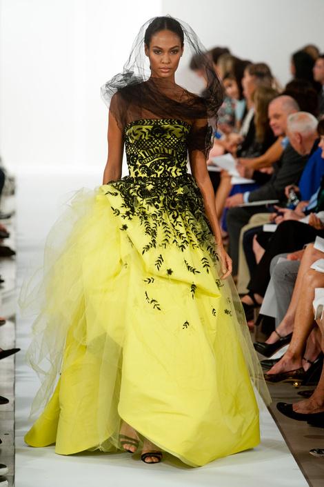 Oscar de la Renta на Неделе моды в Нью-Йорке