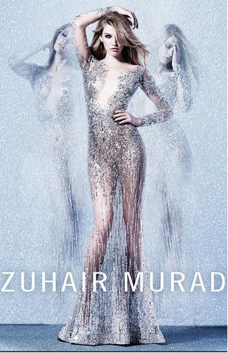 Рекламная кампания Zuhair Murad