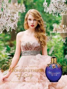 Тейлор Свифт в рекламе аромата Wonderstruck