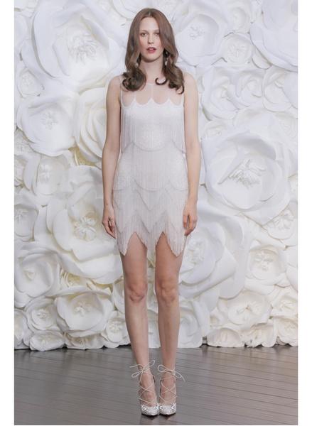 12 коротких платьев для невесты | галерея [1] фото [5]