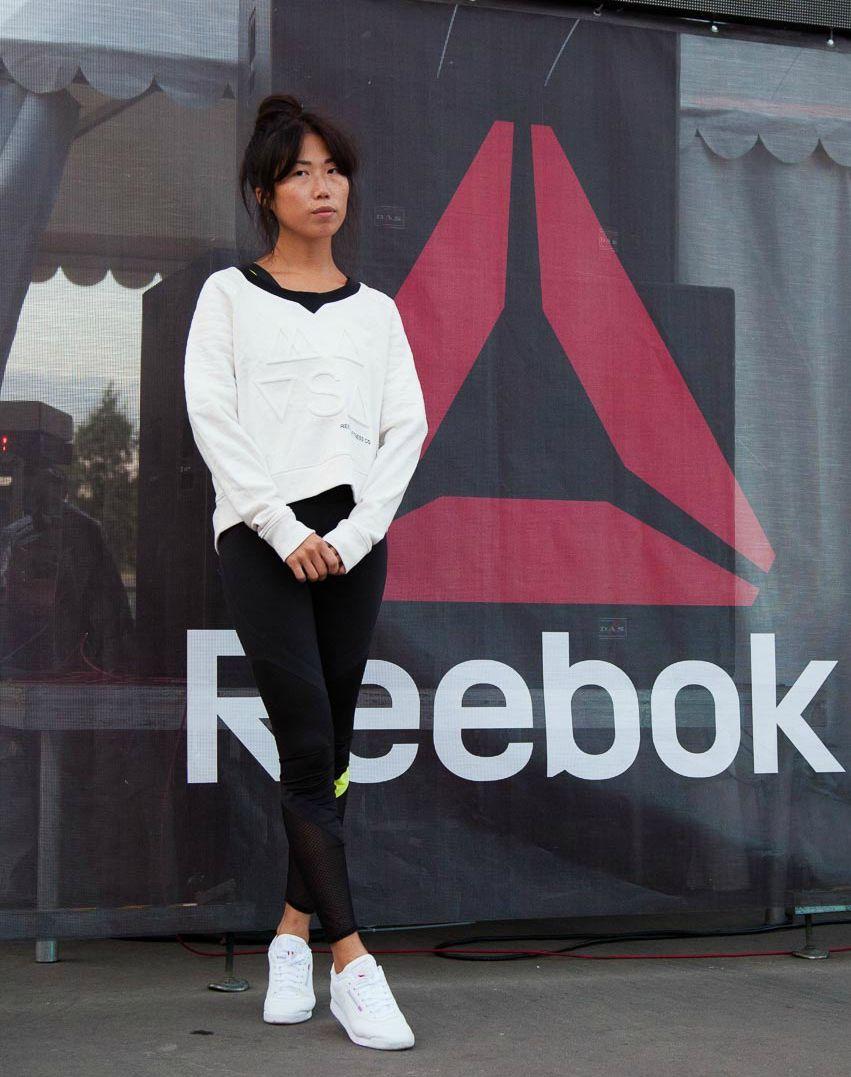 спортивная хроника: звездные участники тренировок reebok