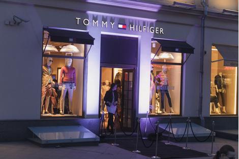 В бутике Tommy Hilfiger прошла презентация весенне-летней коллекции