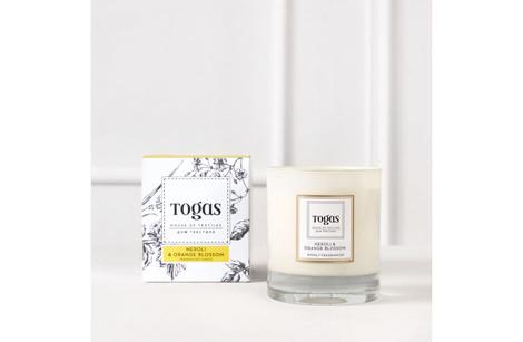 Свеча ароматическая «Нероли и Флердоранж», Togas, магазины Togas.