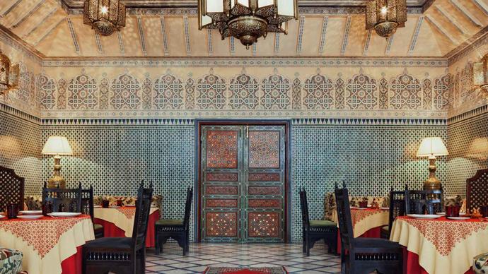 отель Le Royal Mansour Meridien Касабланка