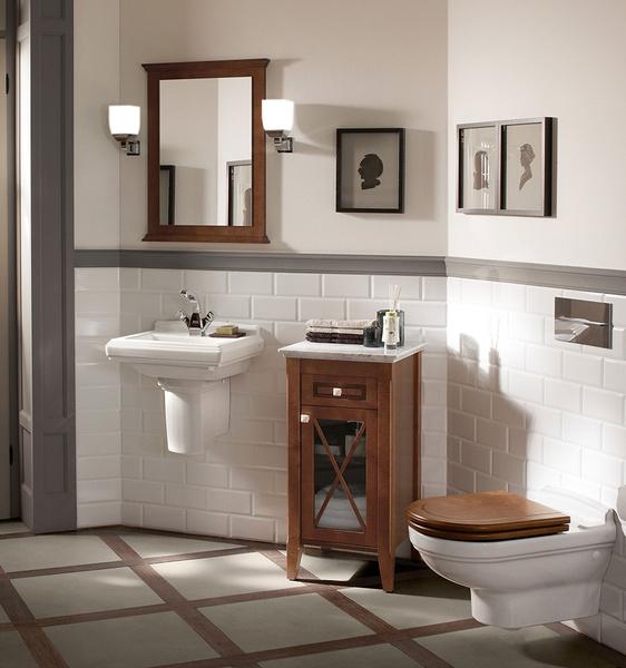 Ванная в стиле ретро: коллекции Amadea и Hommage от Villeroy & Boch | галерея [1] фото [3]