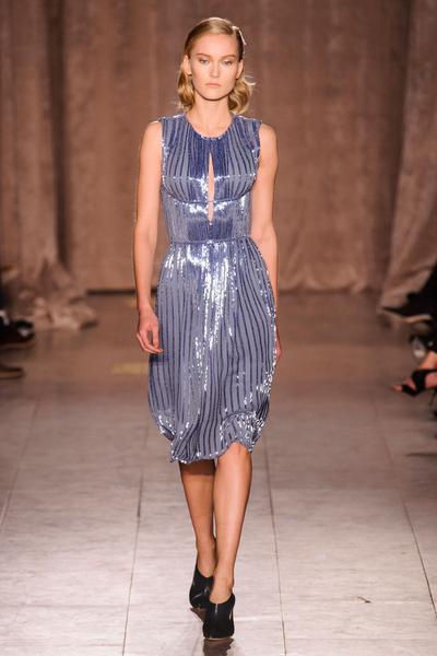 Black tie: показы Carolina Herrera, Reem Acra и Zac Posen на Неделе моды в Нью-Йорке | галерея [1] фото [12]