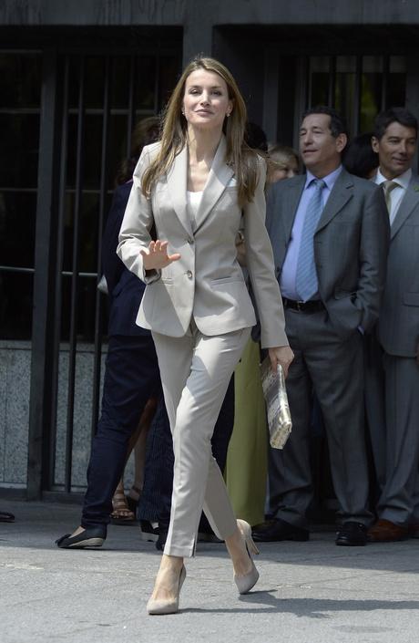 стиль новой королевы Испании Летисии Ортис