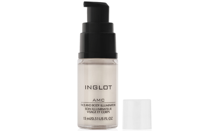 Мерцающий крем для лица и тела AMC от Inglot
