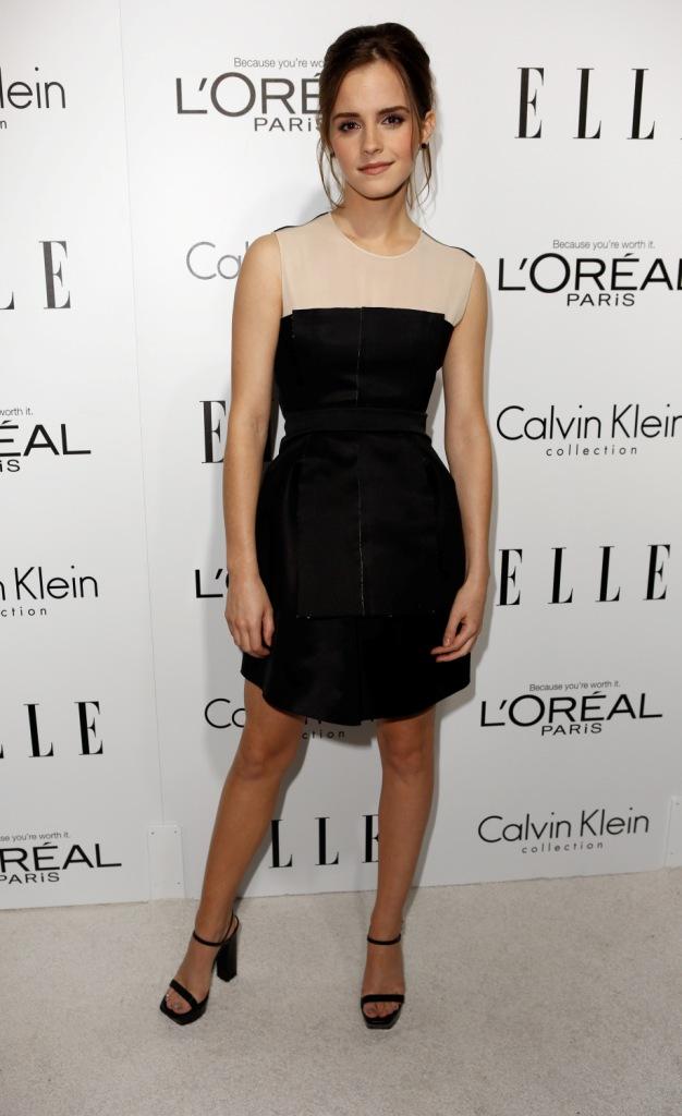 Эмма Уотсон в Calvin Klein, церемония Elle's Women In Hollywood