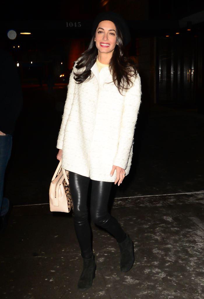 Четыре новых модных образа Амаль Клуни