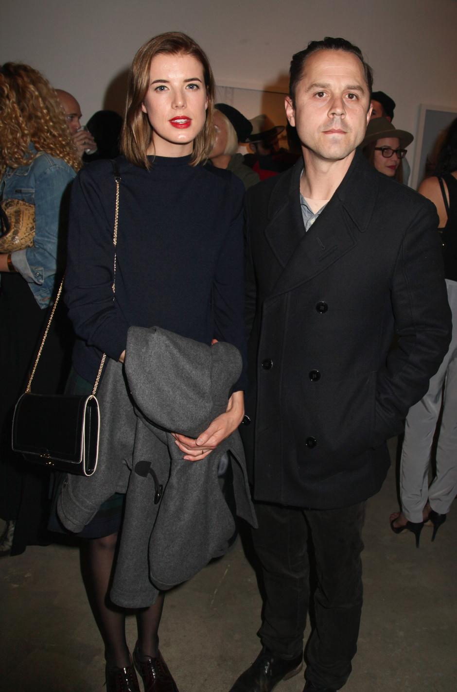 Агнесс Дейн с бывшим мужем Джованни Рибизи