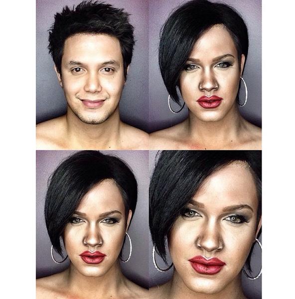 Филиппинский визажист перевоплотился в звезд с помощью макияжа | галерея [1] фото [6]
