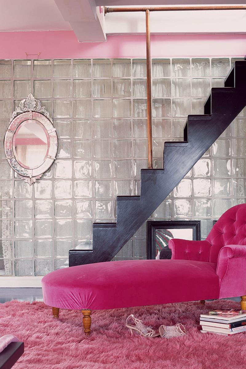Розовая квартира